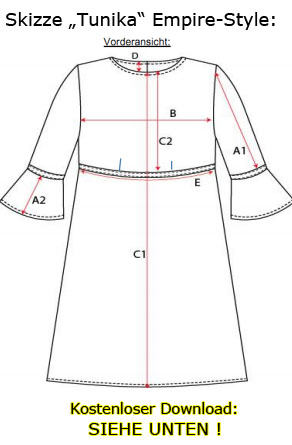 Kleid gratis schnittmuster Schnittmuster für
